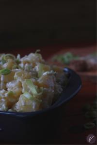 Recept za posnu salatu sa krompirom i prazilukom