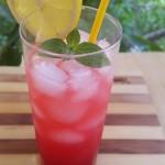 Roze limunada sa malinama