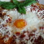 Pečena jaja u marinara sosu