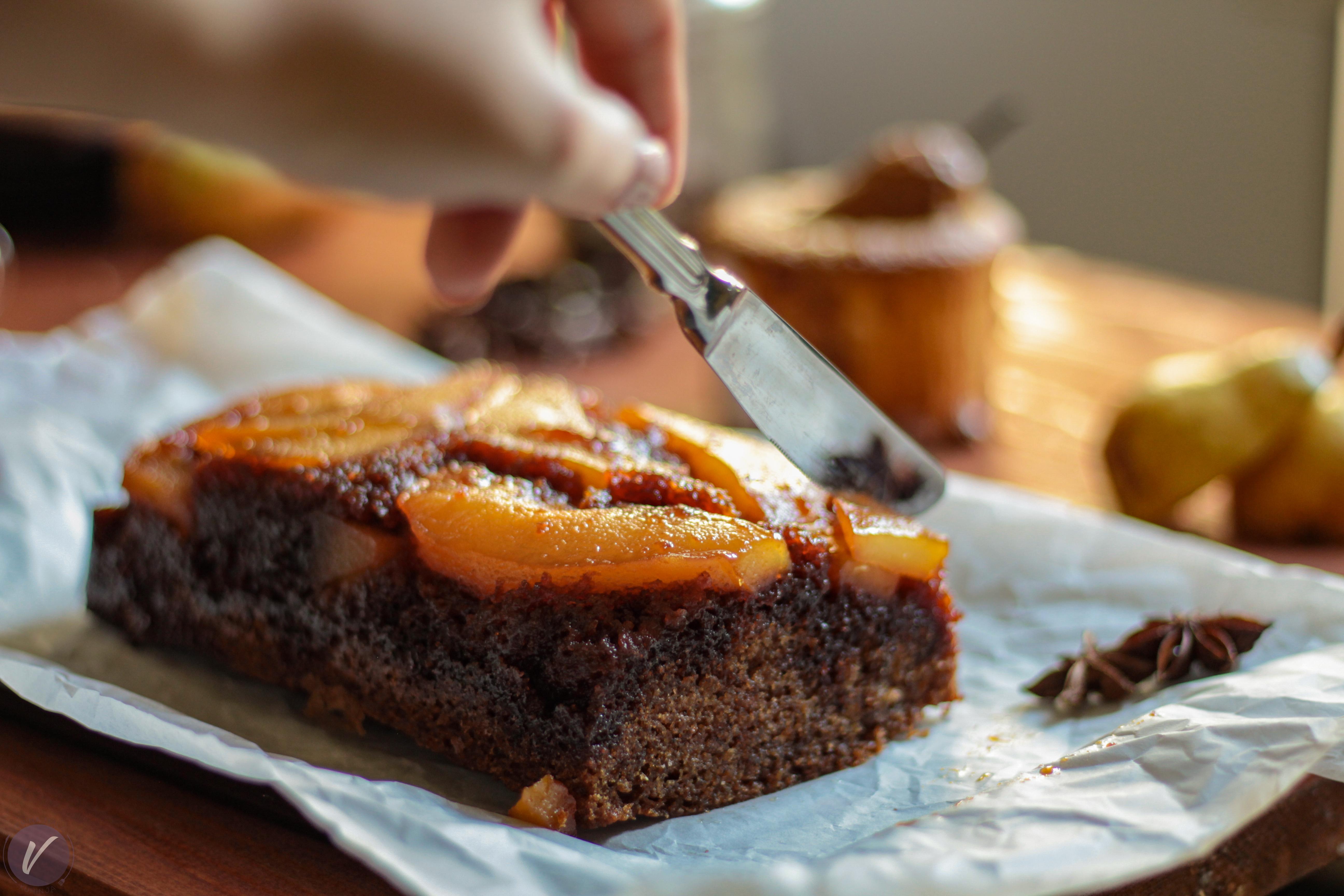 Jesenji kolac sa kruskama