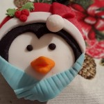Novogodišnji mafini – Pingvin