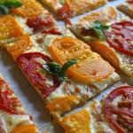 Letnji tart sa sirom i paradajzom