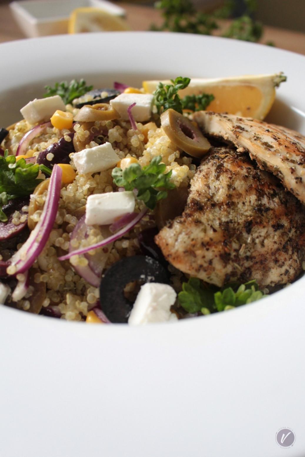 Recept za brzu letnju salatu sa kinoom