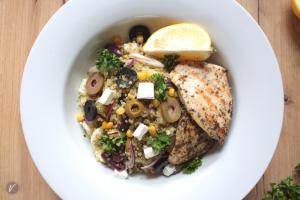 Recept za mediteransku salatu sa kinoom