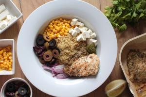 Recept za salatu sa kinoom i piletinom