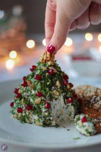 Aromatizovani sir u obliku novogodisnje jelke