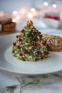 Aromatizovani sir u obliku jelke je idealno novogodisnje predjelo