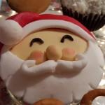 Novogodišnji mafini – Deda Mraz