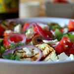 Salata sa grilovanim patlidžanom